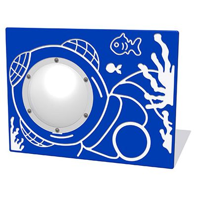 Underwater Diver Play Panel with Clear Dome