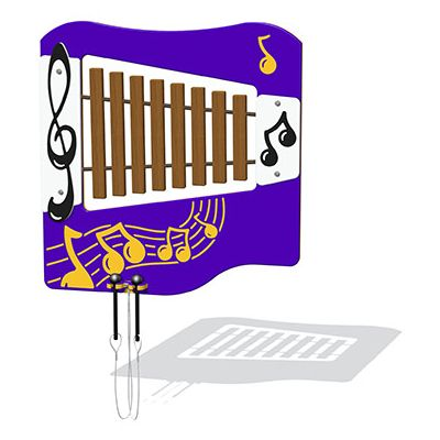Hardwood Xylophone Musical Play Panel