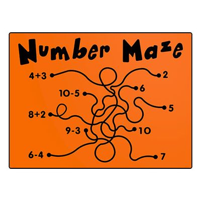 Number Maze Play Panel