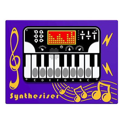 PlayTronic Synthesiser Musical Play Panel