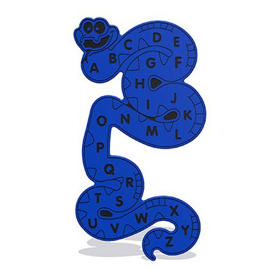 Alphabet Snake Wall Play Panel 15mm XD