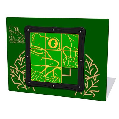 Tile Slide Frog Play Panel