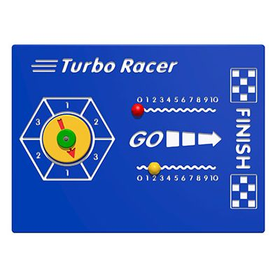 Turbo Racer Play Panel