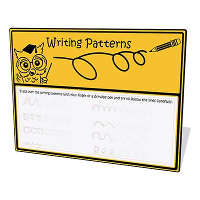 Writing Patterns Play Panel