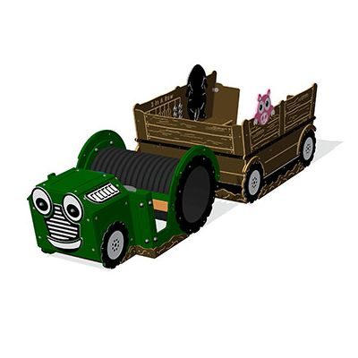 Terry the Tractor and Activity Trailer Set