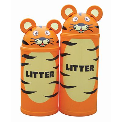 Large Tiger Litter Bin