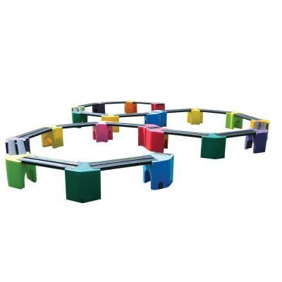 Triple Learning Curve Seating