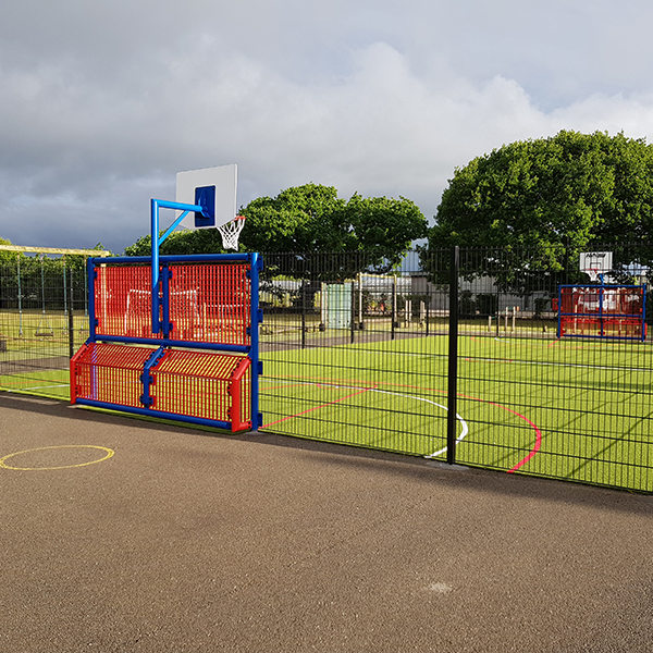muga installation